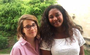Les deux jeunes femmes portent le projet
