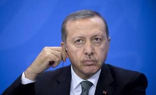 Recep Tayyip Erdogan à Berlin le 4 février 2014.