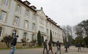 Le lycée privé Loquidy à Nantes.
