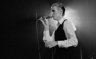 David Bowie live in concert Ahoy Rotterdam at 13-05-1976/HOLLANDSE_1230019/Credit:Hollandse Hoogte/SIPA/1601121248