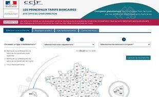 Ce nouveau site lancé par le gouvernement permettra à tout le monde de comparer gratuitement les tarifs des services pratiqués par les banques.