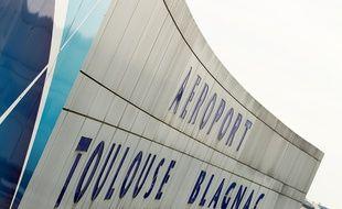 Blagnac, le 18 septembre 2012. La facade de l'aeroport de Toulouse Blagnac.