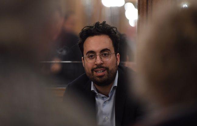 Le secrétaire d'Etat au numérique Mounir Mahjoubi, pendant le Grand barouf numérique le 21 mars 2019 à Lille.