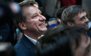 Yannick Jadot (EELV), le 26 mai 2019, durant les élections européennes.