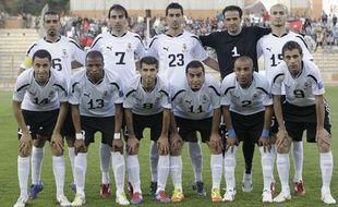 L'équipe de Faisaly, le 25 avril 2012 en Jordanie.