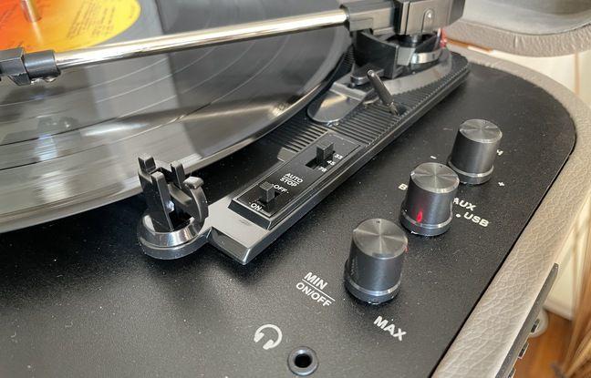 La qualité audio du tourne-disque n'est pas sa principale vertu.