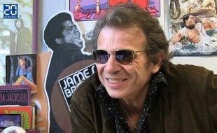 Philippe Manoeuvre à la rédaction de Rock & Folk