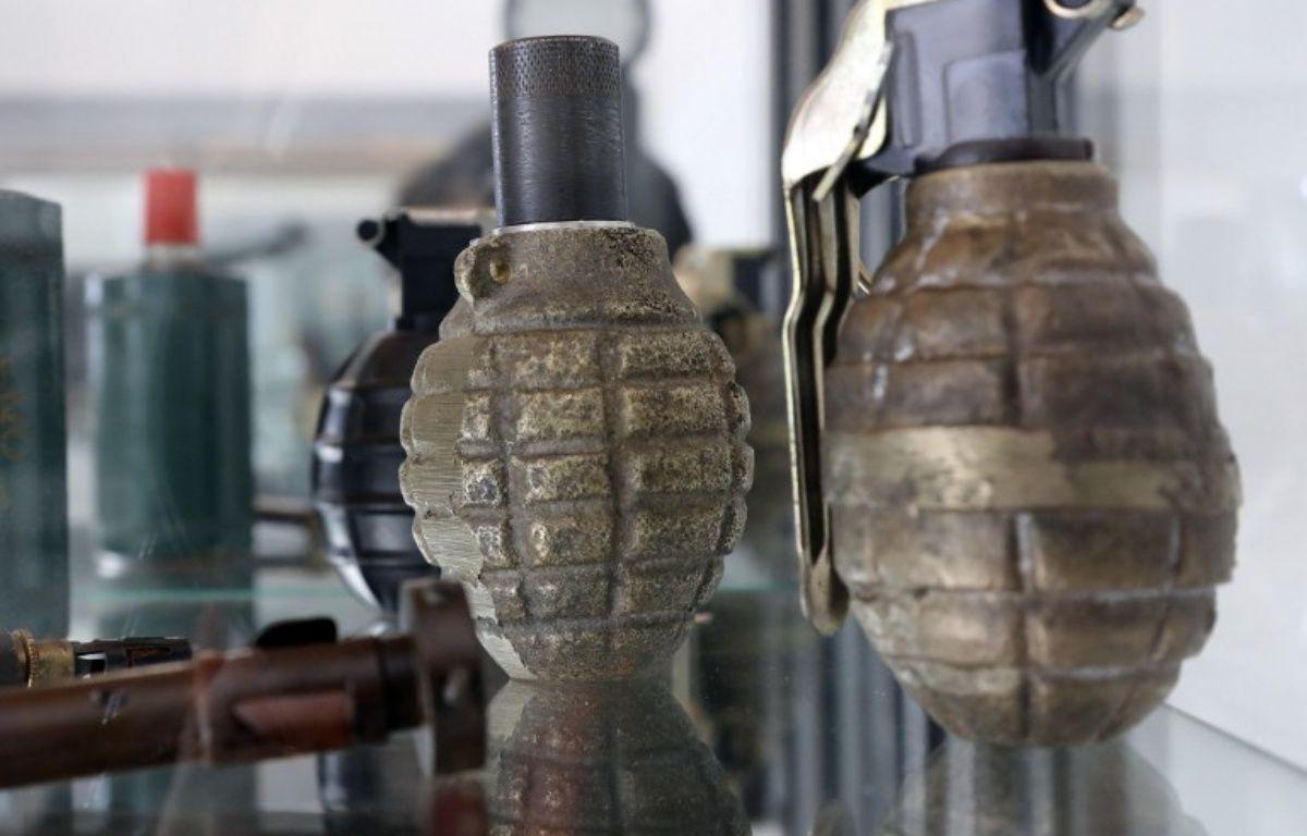 Des grenades dans un centre de déminage. Illustration. – J. Demarthon / AFP