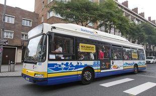 Un bus de l'agglomération de Dunkerque