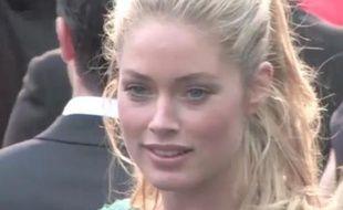 Doutzen Kroes à Cannes le vendredi 25 mai 2012.