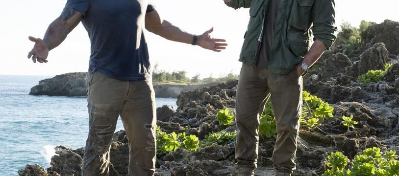 Dwayne Johnson et Jason Statham dans «Fast & Furious :  Hobbs & Shaw».