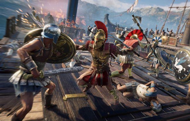 Le jeu propose des séquences maritimes pour des abordages sauvages.
