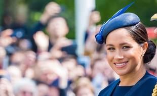 La duchesse de Sussex pendant la cérémonie Trooping the Color