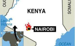 Mombasa OCÉAN INDIEN Lac Victoria OUGANDA KENYA TANZANIE SOMALIE 200 km NAIROBI