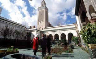 La mosquée de Paris.