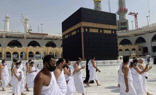 Des pèlerins à La Mecque.