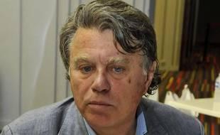 L'avocat Gilbert Collard, le 10 septembre 2011, à Nice.