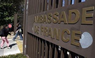 L'ambassade de France à Washington.