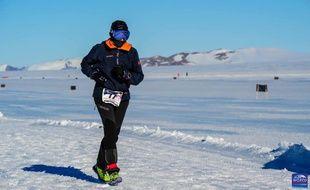 Emma Clair Dumont  a particulièrement souffert lors de l'épreuve organisée sur la glace.