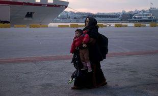 Les enfants constituent aujourd'hui plus d'un tiers des migrants passant par la mer de Turquie en Grèce, une proportion en forte hausse.