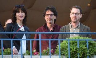 Sophie Marceau, Joel et Ethan Coen le 12 mai 2015 à Cannes