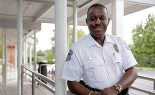 Delrish Moss, chef de la police de Ferguson (Etats-Unis).