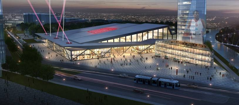 La future SIG Arena, qui devrait s'appeler le Crédit Mutuel Forum.