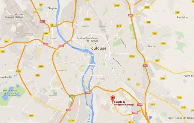 Le campus Rangueil est situé au sud de Toulouse.