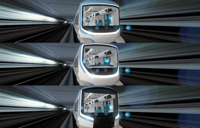 Les Franciliens peuvent choisir le nez des futurs métros des lignes 15, 16 et 17 du Grand Paris Express. Voici les trois propositions.