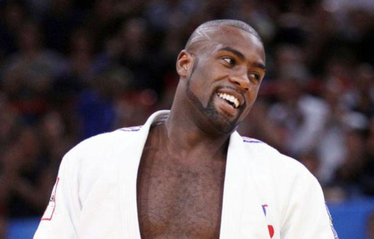 Le judoka français Teddy Riner, lors des championnats du monde de judo de Bercy, le 27 août 2011. – Y.Herman/REUTERS