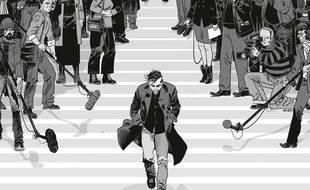 La couverture de L'Affaire des affaires, de Denis Robert et Simon Astier