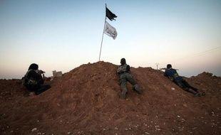 Des combattants jihadistes en Syrie à Raqqa le 23 août 2013