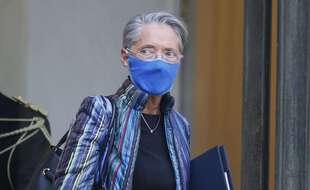 Elisabeth Borne, ministre du Travail, le 6 janvier 2021.