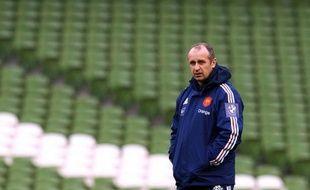 Le manager du XV de France Philippe Saint-André a affirmé dimanche, au lendemain du match nul (13-13) en Irlande, qu'il resterait jusqu'à la fin de son mandat en 2015, malgré une décevante campagne dans le Tournoi des six nations 2013.