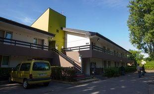 Vue de l'hotel B&B de Pontault-Combault ou a été arrêté Redoine Faïd le 29 mai 2013.