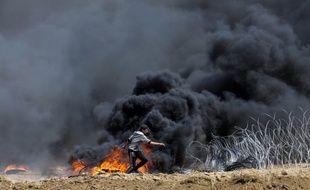 Vendredi 27 avril, une nouvelle manifestation s'est déroulée à la frontière israélienne à Gaza.