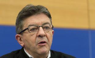 Jean-Luc Mélenchon, le 7 novembre 2015, à Strasbourg.