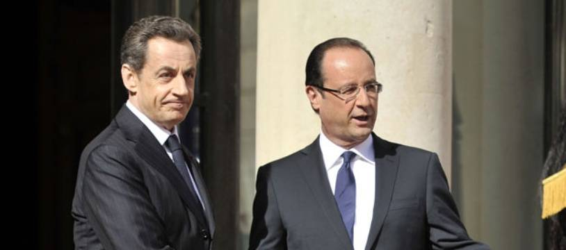 En 2012, François Hollande montrait le chemin de la sortie de l'Elysée à Nicolas Sarkozy. Pour 2017, l'ancien chef de l'Etat a le scénario inverse en tête.
