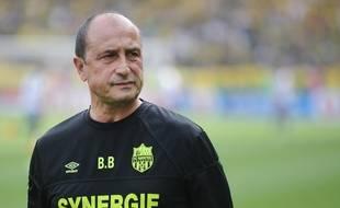 L'entraîneur adjoint Bruno Baronchelli.