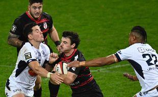 Baptiste Germain contre Agen, le 28 novembre 2020.