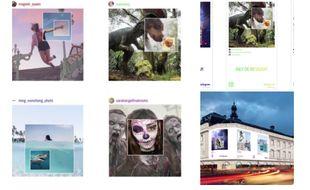 La première campagne publicitaire mondiale pour Instagram a été lancée en France en juin 2016.