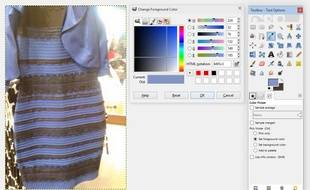 Une photo de robe publiée sur Tumblr.