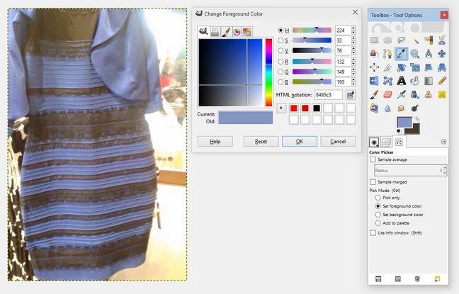 La robe mystère - Elle est blanche et or ou bleue et noir?