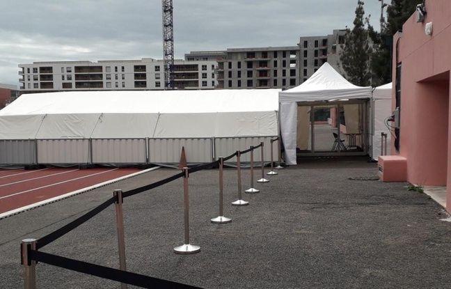 Coronavirus à Nice: La ville installe un centre de consultation «à la coréenne» dans un stade