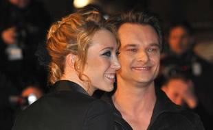 Laura Smet et David Hallyday aux NRJ Music Awards, en janvier 2010.