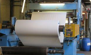 Strasbourg, le 7 juillet 2015 - La manufacture de papier LANA présente ses trois innovations et fait le point sur la reprise de la société par le Danois Lasse Brinck après le redressement judiciaire de 2013.