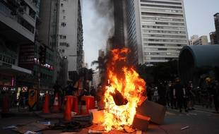 Encore des violences à Hong Kong