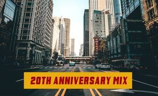 Pochette de l'album de remix de « Lucky Star » de Superfunk