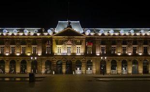Le bâtiment de l'Aubette, place Kléber à Strasbourg.
