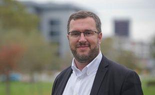 L'adjoint socialiste, Mathieu Cahn, est candidat aux municipales de Strasbourg.